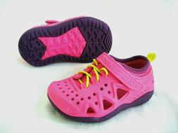 NWT CROCS Kids SWIFTWATER PLAY SHOES Sneakers~Girls Sz 13 c~