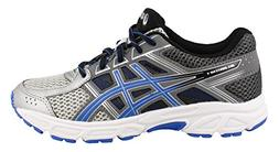 ASICS Boy's, Gel Contend 4 GS Running Sneakers Silver Black