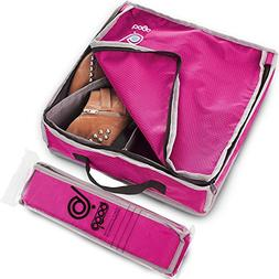 Bago Shoes Bag for Travel - Hanging Packing Cubes for Women