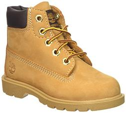 Timberland Unisex 6 in Classic Boot Ankle, Wheat, 6.5 Medium