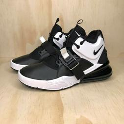 Nike Air Force 270 Big Kids Shoes Black White Anthracite  Mu