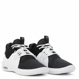 Air Jordan Kids First Class Sneakers Shoes Black White Gold