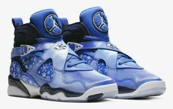 Nike Air Jordan Retro 8 Big Kids' Shoe 305368-400 Cobalt Bla