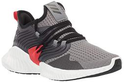 adidas Unisex Alphabounce Instinct, Grey/Black/Active red 6