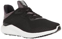adidas Kids' Alphabounce Running Shoe, Black/White/Utility B