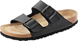 Birkenstock Mens Arizona Black Birko-Flor Sandals 42 EU