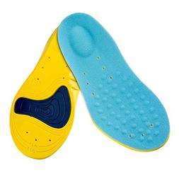 Kids Athletic Memory Foam Insoles for Arch Support and Comfo