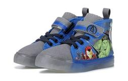 Marvel Avengers Kids Toddler Shoes Sneaker Light Up Baby Gre