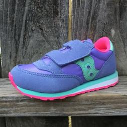 Saucony Baby Jazz HL Toddler Girls Shoes Periwinkle