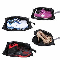 Travel Shoes Bags Set of 4 Waterproof Nylon With Zipper For