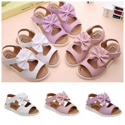 Beautiful Summer Kids Children Sandals Fashion Bowknot Girls