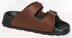Birki Sandals by Birkenstock for Kids Boys Haiti Basic Brown