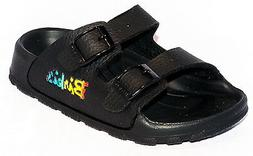Birki Sandals by Birkenstock for Kids Boys Haiti Basic Scwar
