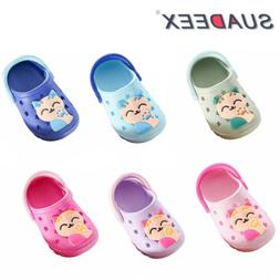 Boys Girls Sandals Kids Summer Beach Clogs Slip On Children