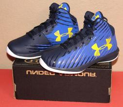 Under Armour Boys Jet Express Mid Basketball Shoes Kids Tenn