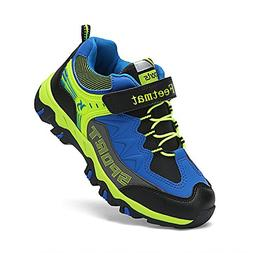 Feetmat Boys Shoes Outdoor Waterproof Hiking Shoes Kids Snea