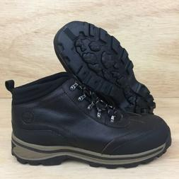Timberland Boys Sz 6.5 Hiking Trail Boots BackRoads Brown Le