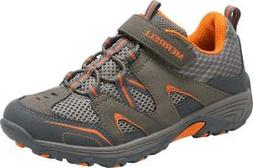 Merrell Boys' Trail Chaser Hiking Shoe Kid Gunsmoke/Orange S