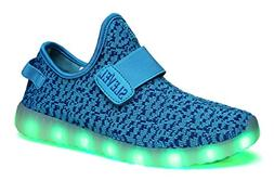 SLEVEL Breathable LED Light Up Shoes Flashing Sneakers for K