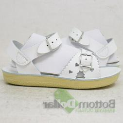 Salt Water Sandals by Hoy Shoe Sun-San-Sweetheart Sandal,Whi