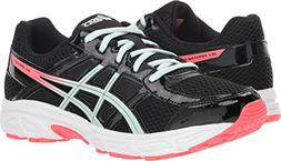 ASICS C707N Kid's Gel-Contend 4 GS Running Shoe, Black/Sooth