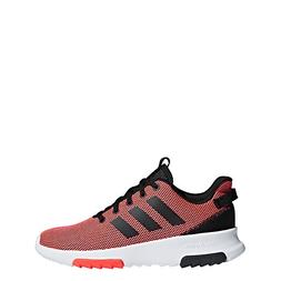 adidas Kids CF Racer TR Running Shoe, Solar Red/Black/Solar