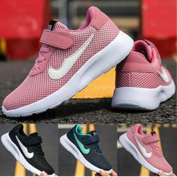 Kids Shoes Mesh Boys Girls Sports Running Casual Walking Tra