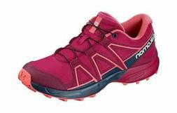 Children's Salomon Speedcross Trail Running Shoe Cerise