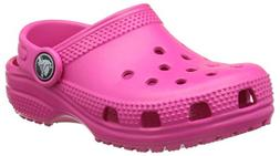 crocs Kids' Classic K Clog, Candy Pink, 7 M US Toddler