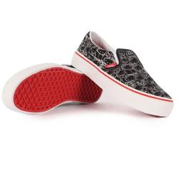 Vans - Kids Classic Slip-On Shoes In Hello Kitty, Size: 3 M