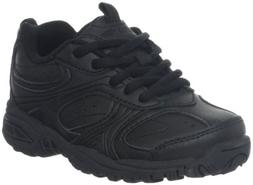 Stride Rite Cooper Lace Sneaker ,Black,5 XW US Big Kid