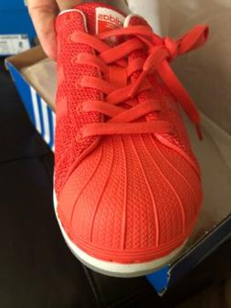 Adidas Coral Superstar Bounce J Kids Shoes 6 Brand New In Bo