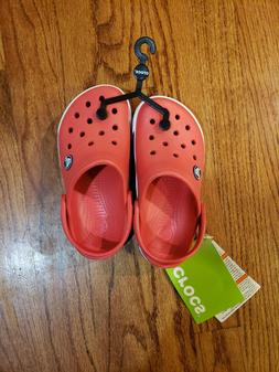 CROCS Crocband Red Sandals Water Shoes 10/11