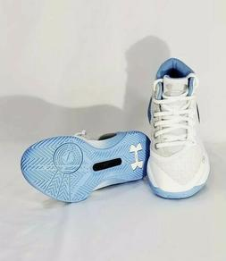 more photos e4a79 b6f9d UNDER ARMOUR CURRY 3 Kids Boys Basketball Shoes White Blue S