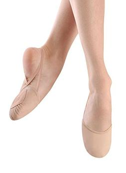 Bloch Dance Womens Eclipse Leather Shoe, Nude, Small/4-6.5 M