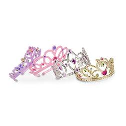 Melissa & Doug Dress-Up Tiaras for Costume Role Play