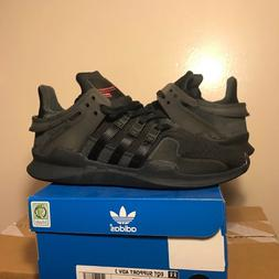 adidas EQT Support ADV J Big Kids Black Pink Shoes 4Y 5.5Y 7