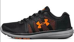 Under Armour Fuel RN 2 Kids Athletic Sneakers Dark Gray+Oran