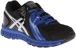Asics Gel-Lil' Craze Training Shoe ,Black/Silver/Royal,5.5 M