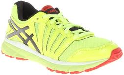ASICS Gel-Lyte 33 2 GS Running Shoe ,Royal/Flash Yellow/Lime