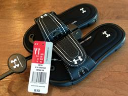 Girl's Size 1Y, 1 Under Armour Ignite VIII Sandals Slides Ch