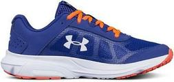 Under Armour Rave 2 Kids Running Shoes Blue+Hot Pink Casual