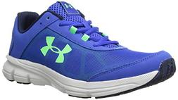 Under Armour Kids' Grade School Rave 2 Sneaker,Blue,7 M US