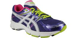 ASICS GT-1000 GS C303N KIDS RUNNING SHOES COLOR:GRAPE/WHITE/