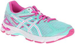 ASICS GT 1000 3 GS Running Shoe ,Mint/White/Hot Pink,1 W US