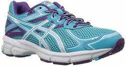 ASICS GT-1000 2 GS Running Shoe ,Turquoise/White/Purple,1.5