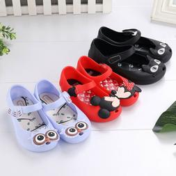 Jelly Shoes Cartoon Mickey Minnie mouse Sandals Kids Toddler