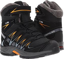 Salomon Kid's XA Pro 3D Winter TS CSWP Snow Boots, Black, Te