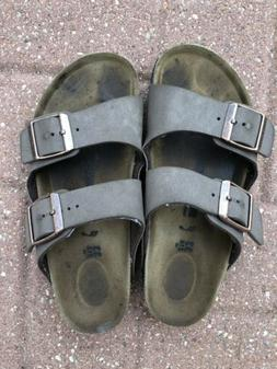 Birkenstock Kids 33 Tan Brown Sandals Shoes Size Youth 2