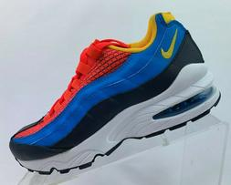 KIDS NIKE AIR MAX 95 NOW SNEAKERS AV2289 600-MULTIPLE SIZES
